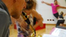 Concerto per Sax, Elettronica e Danzatori
